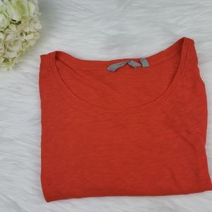 Athleta Orange Running Top